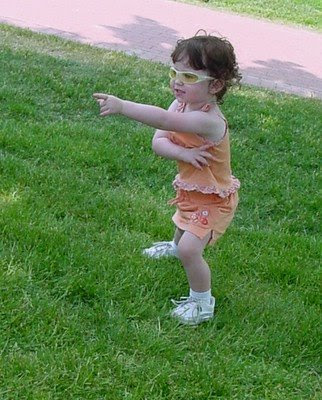 Toddler dancing the Macarena