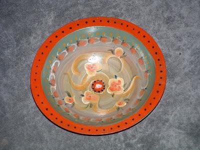 Norwegian wooden bowl