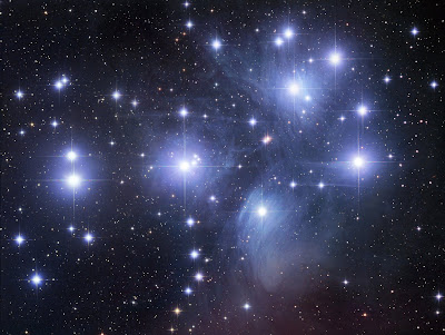 Pleiades, or the Seven Sisters.