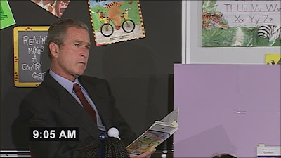 Bush reading My Pet Goat on 9/11