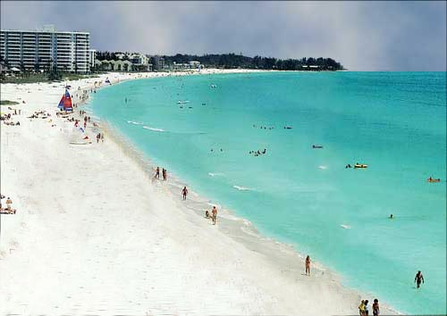 Siesta key also has two other great beach areas for Nice beaches in usa