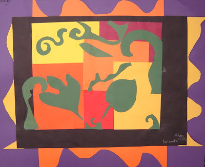 Matisse Fall Collage