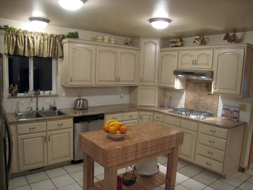 Oak cabinets before and after pictures