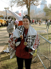 2008 Philadelphia Marathon (4:20:21)