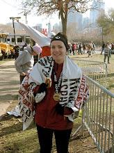 2008 Philadelphia Marathon (4:20:21)