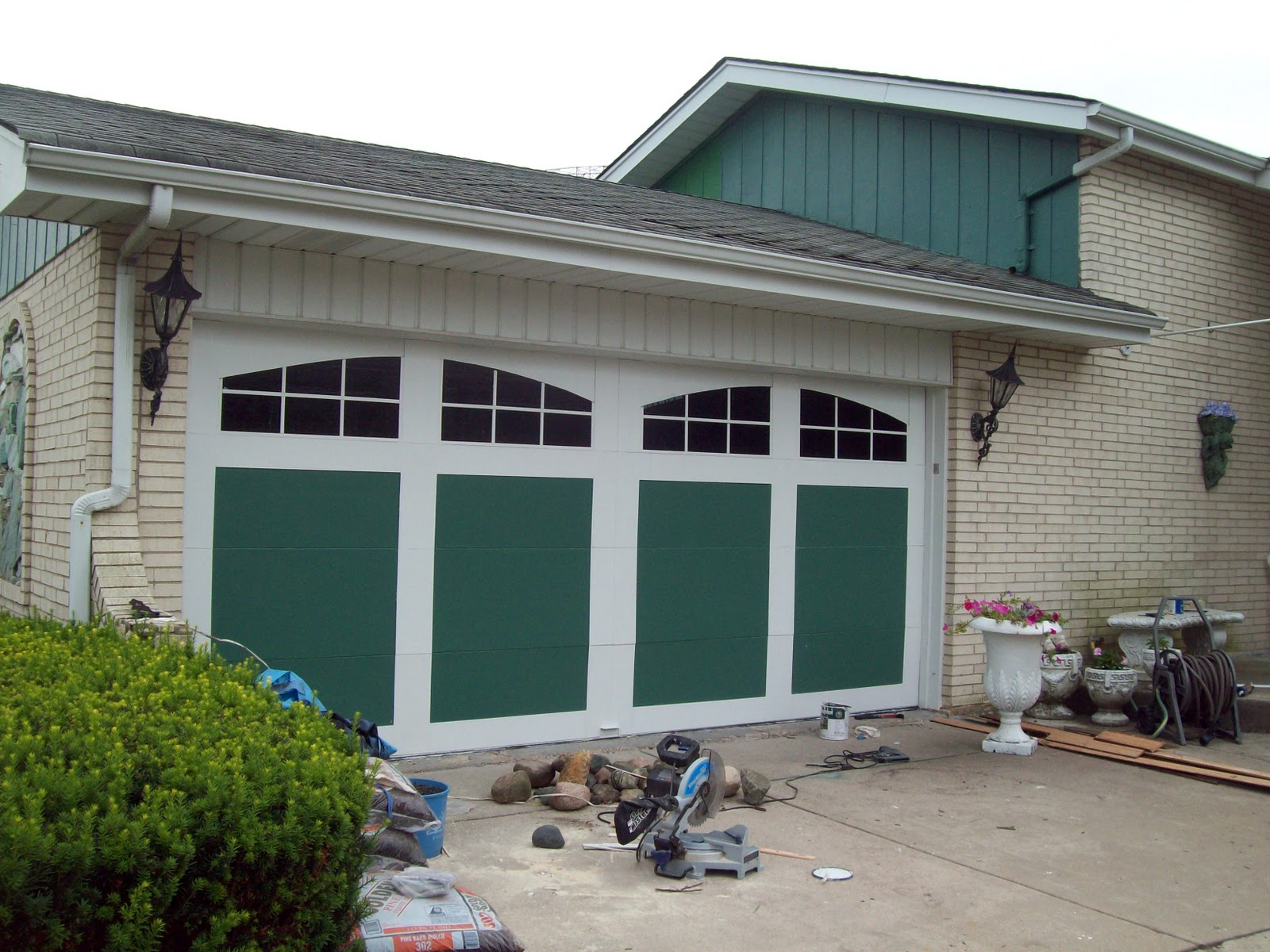 Garage Door Moulding Precious Home Design