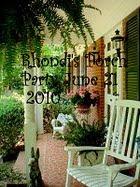 RHONDIS PORCH PARTY
