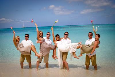 Traditional Cayman Beach Wedding Good Choice for Topeka, KS Couple - image 7
