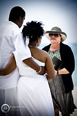 Cord of Three Strands for this Grand Cayman Beach Wedding - image 1