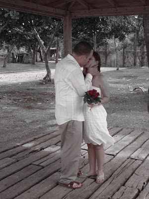 Stormy Weather Behind This Couple's Cayman Beach Wedding - image 4