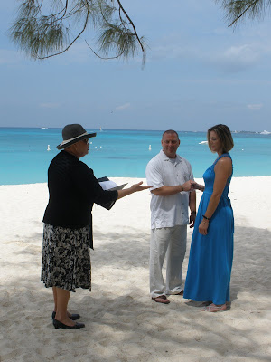 St Patrick's Day for this Cayman island wedding - image 1