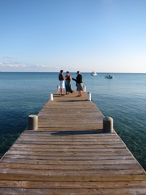 Cayman Island Pier Wedding for Illinois Pair -image 3