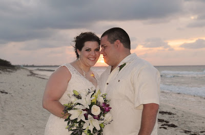 Sunset 'Cayman Sands' Wedding and Unity Sand Ceremony for Ohio couple - image 11