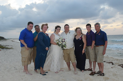 Sunset 'Cayman Sands' Wedding and Unity Sand Ceremony for Ohio couple - image 10