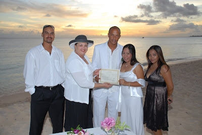 Locals Sunset Wedding at Marriott Courtyard Beach - image 2
