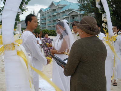 Filipino Beach Wedding at Westin, Grand Cayman - image 4