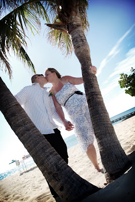 Footprints in the Sand - Cayman Islands Beach Wedding - image 3