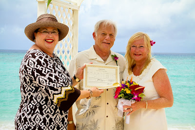 Jewish Influence in Grand Cayman Beach Wedding - image 5