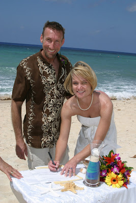 Grand Cayman Beach Wedding for Georgia Law Enforcement Officers - image 4