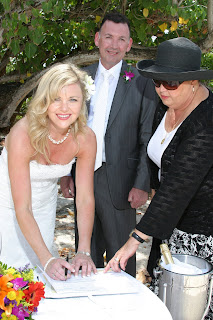 Irish Eyes Were Smiling at this Cayman Cruise Beach Wedding - image 6
