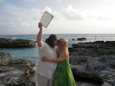 Simple Cayman Beach Wedding - image 1