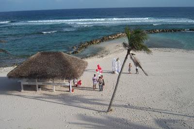 Bikini Bride at Grand Cayman Beach Wedding - image 2