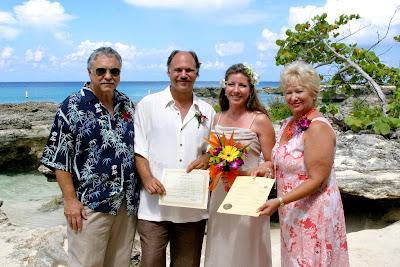 Beautiful Cruise Wedding at My Secret Cove, Grand Cayman - image 6