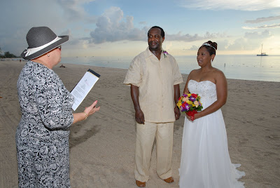 Cayman Wedding at Sunset for Memphis Visitors - image 1