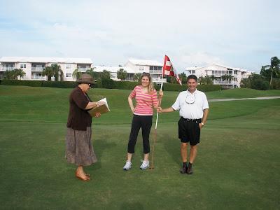 Grand Cayman Golf Course Wedding on 18th Hole - image 2