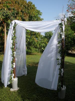 Building a DIY Chuppah for Your Grand Cayman Beach Wedding - image 3