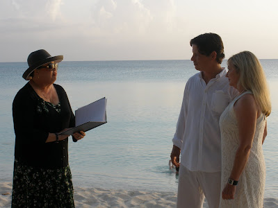 Louisiana Couple Marry in Romantic Sunset Grand Cayman Wedding - image 2