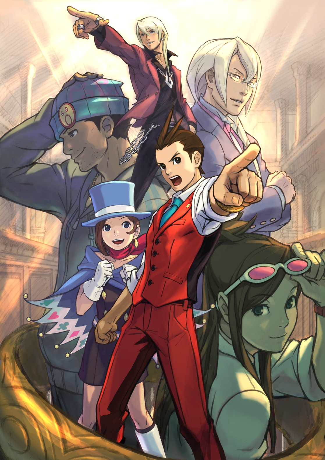 Apollo Justice - Images Actress