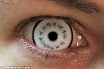 Scary Contact Lenses ( Cool Pictures ) | Photo Collection