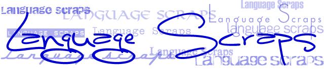 Language Scraps