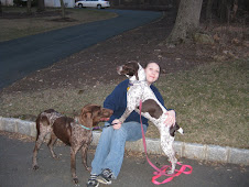 """My """"Foster Aunt"""" Marin Taking me On a Walk with Bonnie!"""