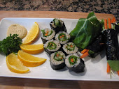Asian Raw Living Rolls