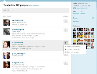 Os Following do Twitter. Quem você está seguindo. Criar conta no Twitter. Como começar no Twitter.