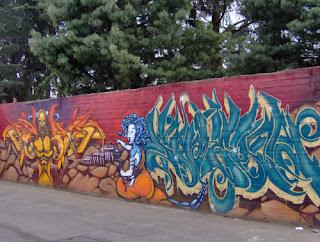 YADUENDE. Progetto per la libera espressione: Graffiti a Terrazzano ...