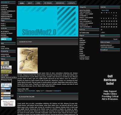 Slined Mod 2.0 Blogger Template