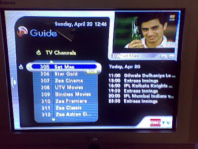 Big TV Channel Guide