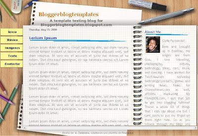 Agenda 01 Blogger Template