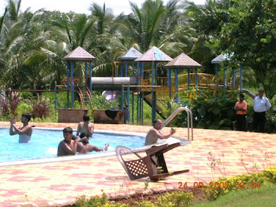 Outdoor Park at Satya Resort
