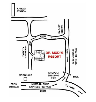 Dr. Modis Resort Map