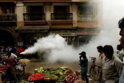 Foggin in Mumbai