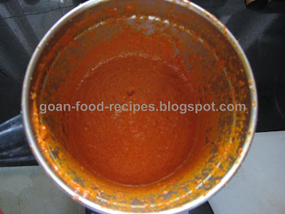Goan prawn curry masala