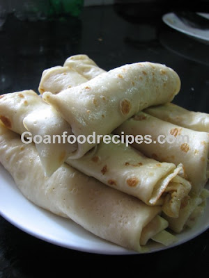 Delicious Goan Pancakes