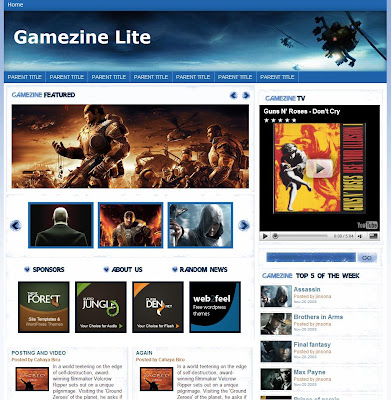 Gamezine in White and Lite