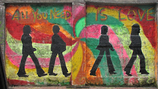 All you need is love at mahim, thanks to the wall project
