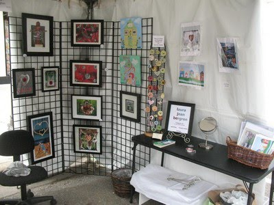 My First Outdoor Craft Fair Experience - Display Ideas | Handmadeology
