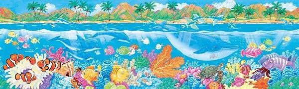 para nios e infantil cenefas infantiles del mar y los peces para decoracin infantil